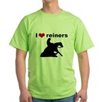 I love reiners slider Green T-Shirt