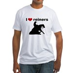 I love reiners slider Fitted T-Shirt