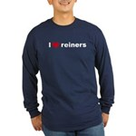 I love reiners slider Long Sleeve Dark T-Shirt