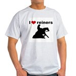 I love reiners slider Ash Grey T-Shirt