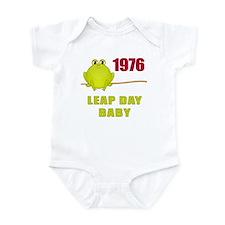 1976 Leap Year Baby Infant Bodysuit