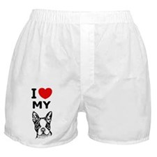 Boston Terrier Boxer Shorts