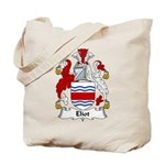Eliot Family Crest Tote Bag