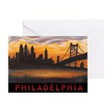 Unique Philadelphia Greeting Card