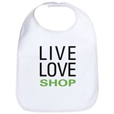 Live Love Shop Bib