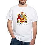 Eckley Family Crest White T-Shirt