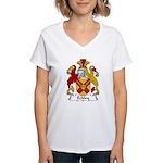 Eckley Family Crest Women's V-Neck T-Shirt