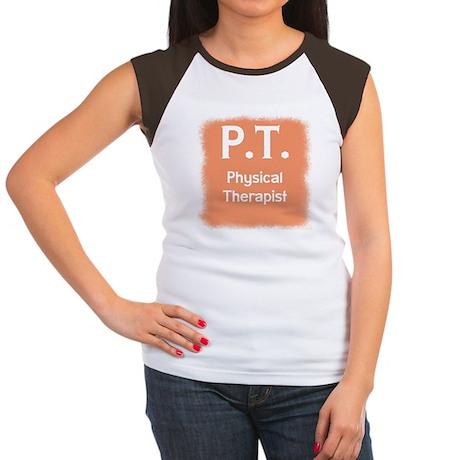 Physical Therapist Women's Cap Sleeve T-Shirt