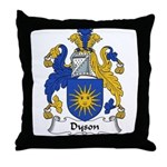 Dyson Family Crest Throw Pillow