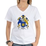 Dyson Family Crest Women's V-Neck T-Shirt