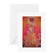 """Rising Phoenix"" Inspirational Card"
