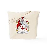 Dugdale Family Crest Tote Bag