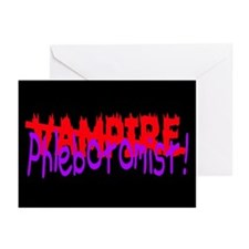 VAMPIRE Greeting Cards (Pk of 10)