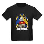 Drax Family Crest Kids Dark T-Shirt