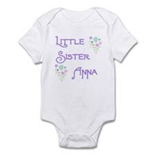 Little Sister Anna Infant Bodysuit