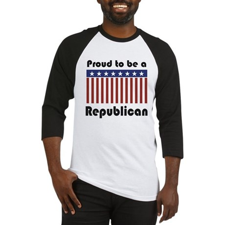 Proud to be a Republican Baseball Jersey