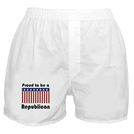 Proud to be a Republican Boxer Shorts
