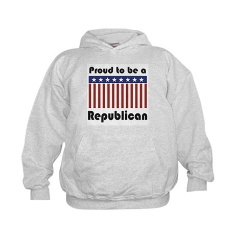 Proud to be a Republican Kids Hoodie