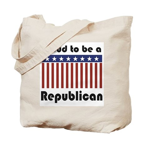 Proud to be a Republican Tote Bag