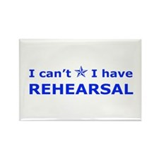 Rehearsal with Star Rectangle Magnet (10 pack)