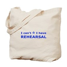 Rehearsal with Star Tote Bag