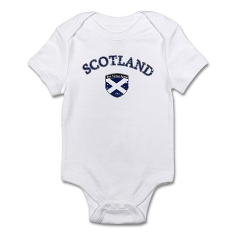 Scotland Soccer Infant Bodysuit