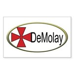 DeMolay Rectangle Sticker