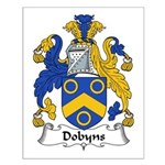 Dobyns Family Crest Small Poster