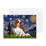 Starry Night Blenheim Greeting Card