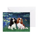 Mona lisa Greeting Cards (20 Pack)