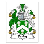 Derby Family Crest Small Poster