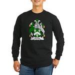 Derby Family Crest Long Sleeve Dark T-Shirt