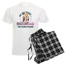 Personalized Happy Brazilian Pajamas