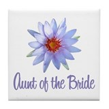 Lotus Bride's Aunt Tile Coaster