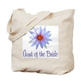 Lotus Bride's Aunt Tote Bag