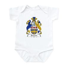 Deacon Family Crest  Infant Bodysuit