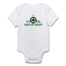 Hiking Daddy Infant Bodysuit