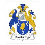 Dandridge Family Crest Small Poster