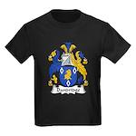 Dandridge Family Crest Kids Dark T-Shirt