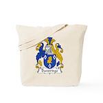 Dandridge Family Crest Tote Bag