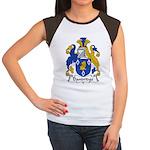 Dandridge Family Crest Women's Cap Sleeve T-Shirt