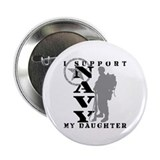 I Support Daughter 2 - NAVY Button