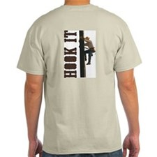 Lineman Hooks T-Shirt