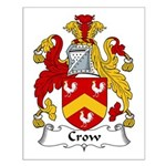 Crow Family Crest  Small Poster