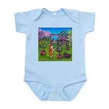 Corgi Master Gardener Infant Bodysuit