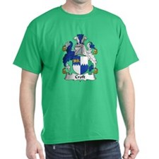 Croft Family Crest T-Shirt