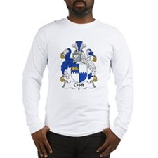 Croft Family Crest Long Sleeve T-Shirt