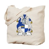 Croft Family Crest Tote Bag