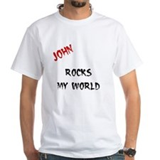 John Rocks My World Shirt