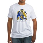 Cousins Family Crest  Fitted T-Shirt